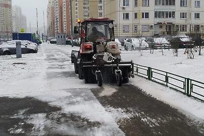 Почти 170 т песко‑соляной смеси использовали для обработки дорог в Люберцах