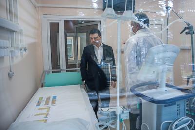 Корпуса для больных Covid‑2019 в Звенигороде готовы на 90%