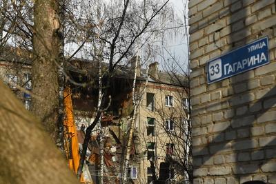Кадры с места взрыва газа в многоквартирном доме в Подмосковье