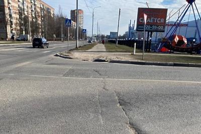 Пешеходный переход обустроят на Ленинградском проезде Подольска до 17 августа