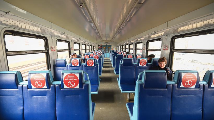 На Курском направлении МЖД восстановили движение поездов