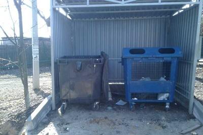 Мусор с контейнерной площадки в селе Красногорска вывезли по просьбе жителя
