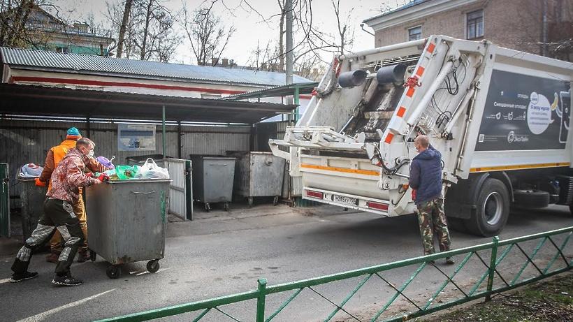 Свыше 28 тыс кубометров отходов вывезли с контейнерных площадок Люберец за неделю