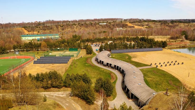 В Дмитровском округе запустили самую мощную солнечную электростанцию в Подмосковье