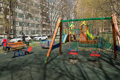 Нарушения дезинфекции детских площадок выявлены в двух округах Подмосковья