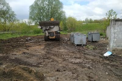 Десять мусоросборочных площадок отремонтируют в микрорайоне Подольска