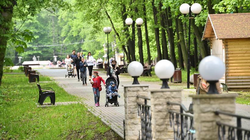 15 парков обновили в Подмосковье в 2020 году