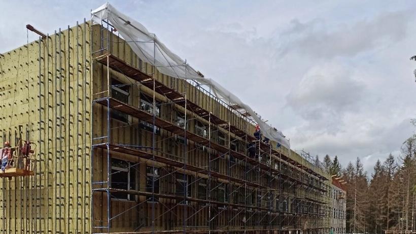 Школу на 550 мест в Рузе достроят до конца года