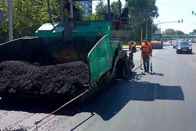 В Волоколамске продолжают комплексный ремонт центральных улиц