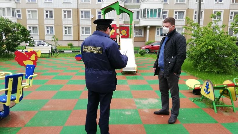 В Подмосковье устранили более 2 тыс нарушений на детских площадках