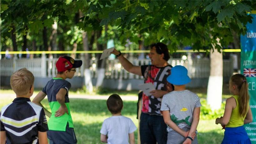 Уроки английского языка будут проходить в парке Подольска по воскресеньям