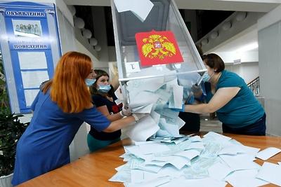 В Подольске подвели итоги голосования по выборам в Госдуму и Мособлдуму