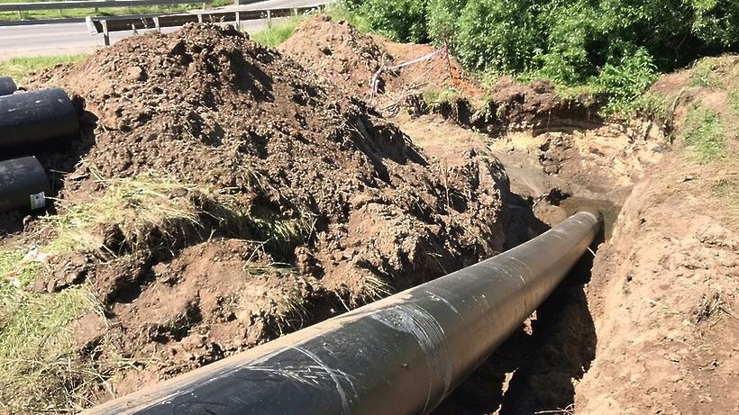 Водопроводод в поселке ГПЗ «Константиново» Домодедова планируют переложить к сентябрю