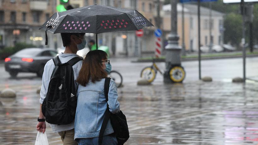 В начале недели жителей Московского региона ждут гроза и дожди