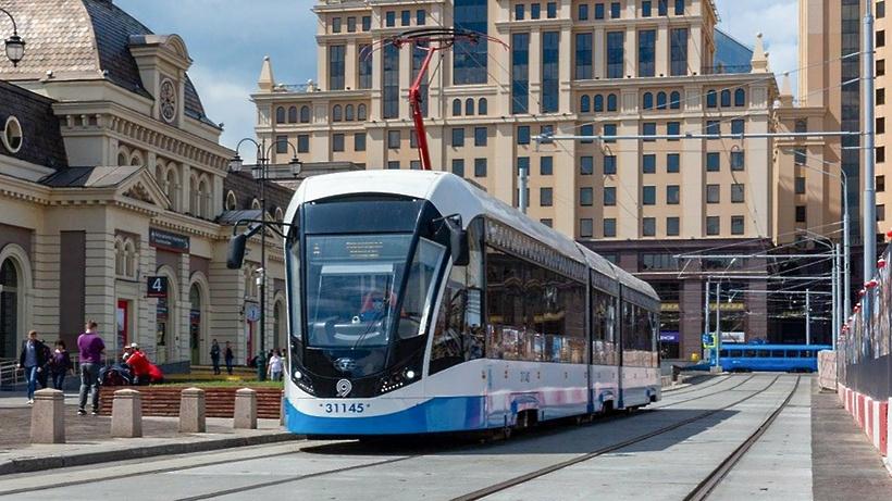 Более 470 тыс человек проехали на трамваях после открытия движения у Павелецкого вокзала