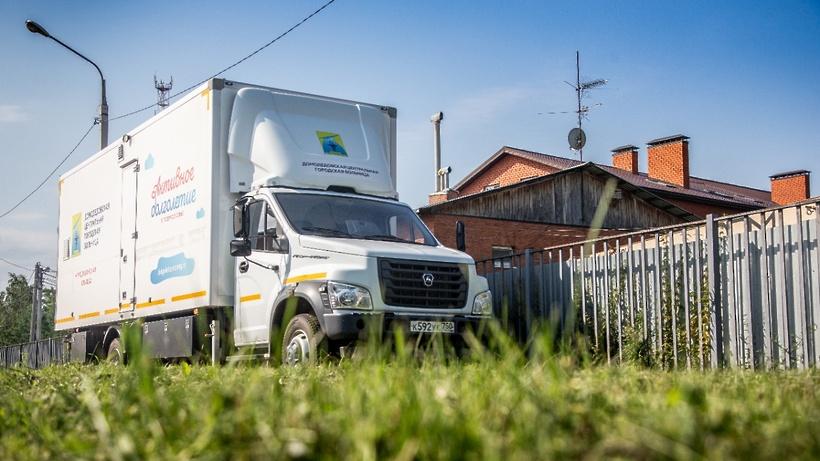 Мобильная поликлиника возобновила работу в Домодедове