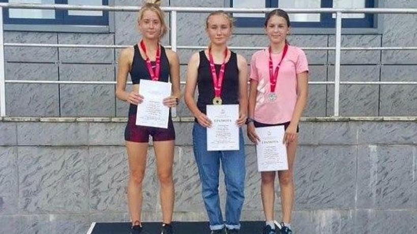 Легкоатлеты из Люберец заняли призовые места на первенстве Подмосковья