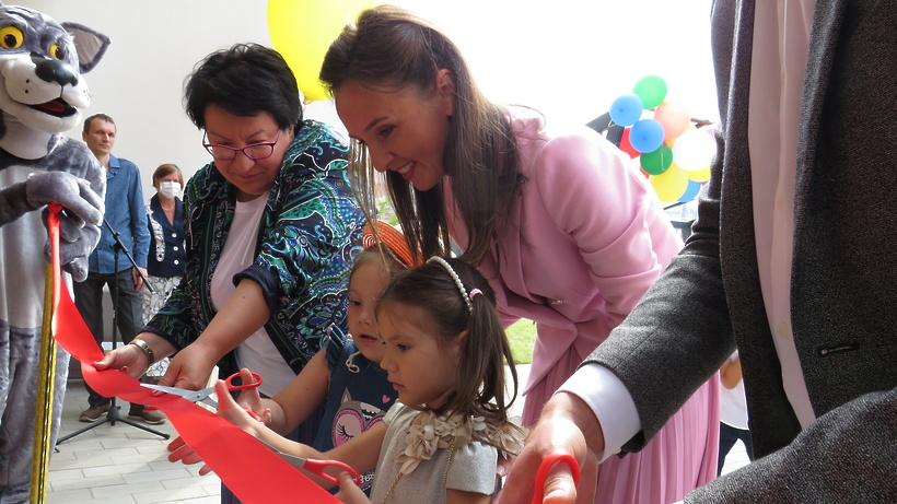 Министр образования Подмосковья открыла детский сад в Красногорске