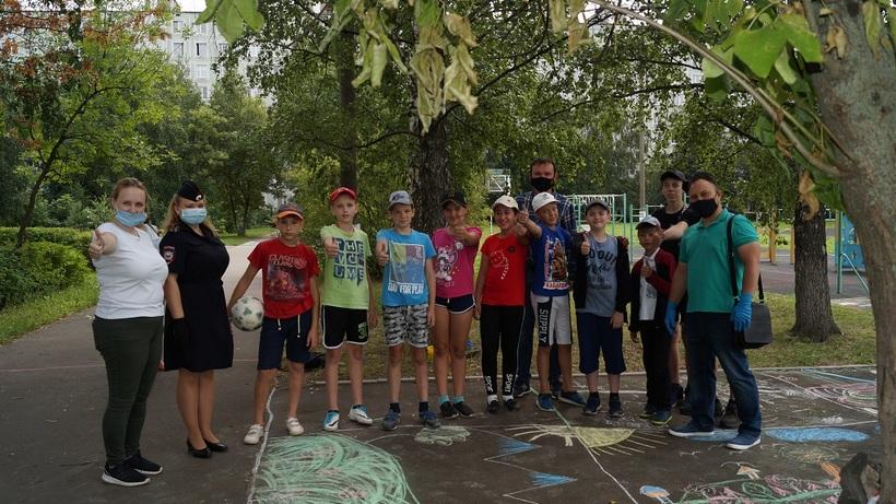 Детям из летнего лагеря Люберец рассказали, как уберечь себя от злоумышленников