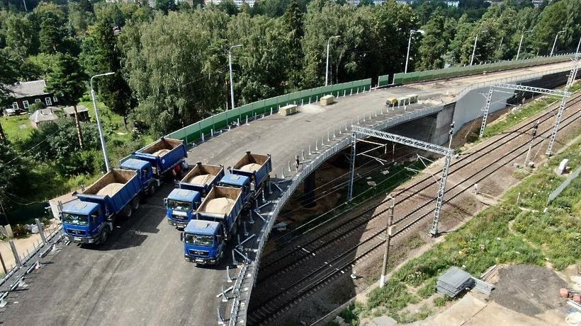 Новый путепровод в Дедовске поможет жителям сэкономить до полутора часов временив пути