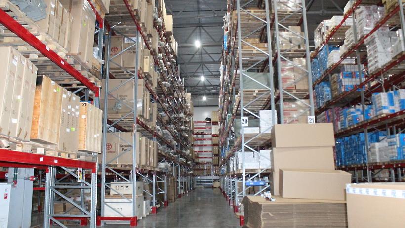 Порядка 1 тыс человек трудятся в складском комплексе в поселке Люберец
