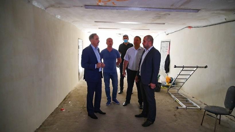 Подземный переход в поселке Томилино Люберец отремонтируют до 1 сентября