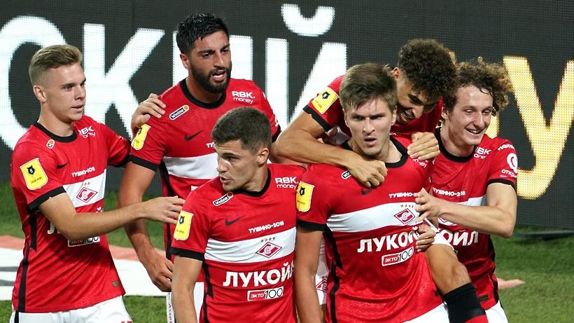 Стали известны составы команд «Спартак» и «Химки» в матче 7 тура РПЛ