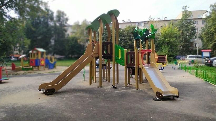 Благоустройство 4 дворов в микрорайоне Климовск Подольска завершат до 1 июля