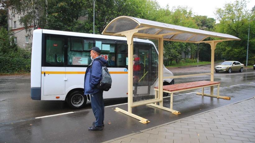 Новую остановку установили на Михневском шоссе в Люберцах