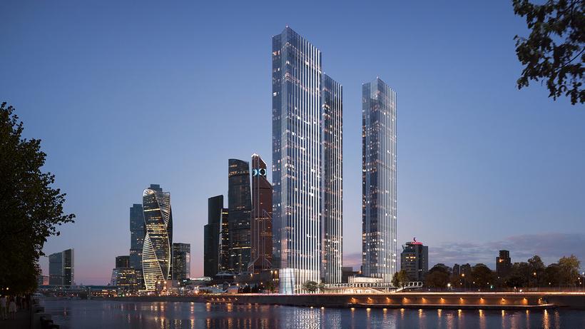 Небоскребы Capital Towers достроят в центре столицы в 2022 году