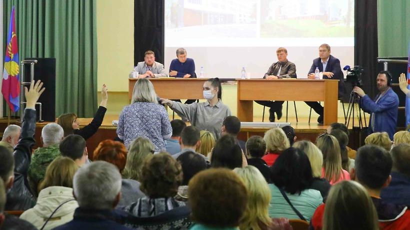 Спортивное ядро новой школы в Краскове Люберец расположат на участке лесфонда