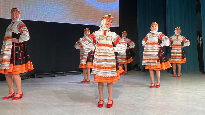 Фестиваль‑конкурс народного танца «Князевские встречи» прошел в Дмитрове