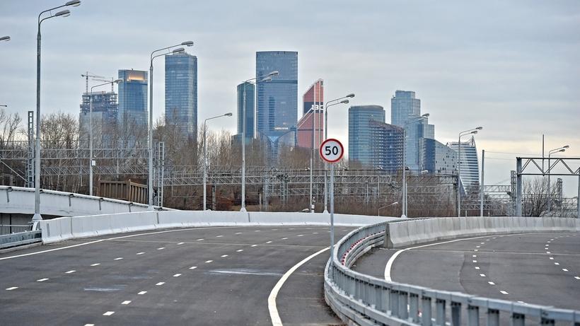 Собянин открыл движение по проспекту Генерала Дорохова