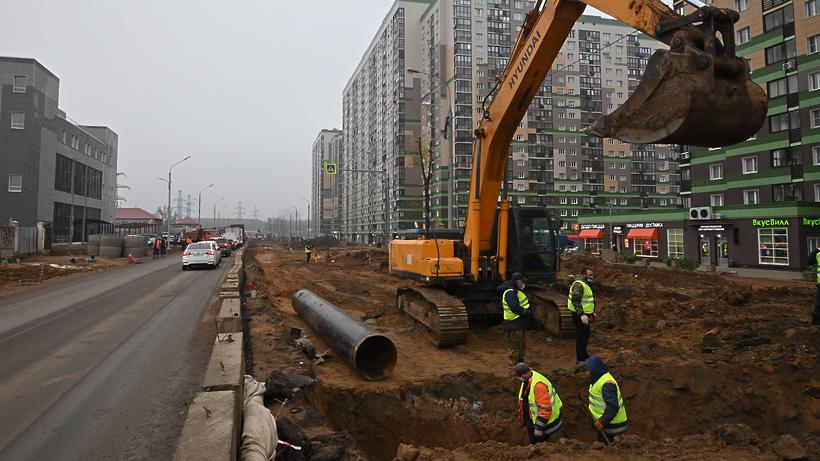 Власти Подмосковья рассказали о планах строительства дорожных объектов