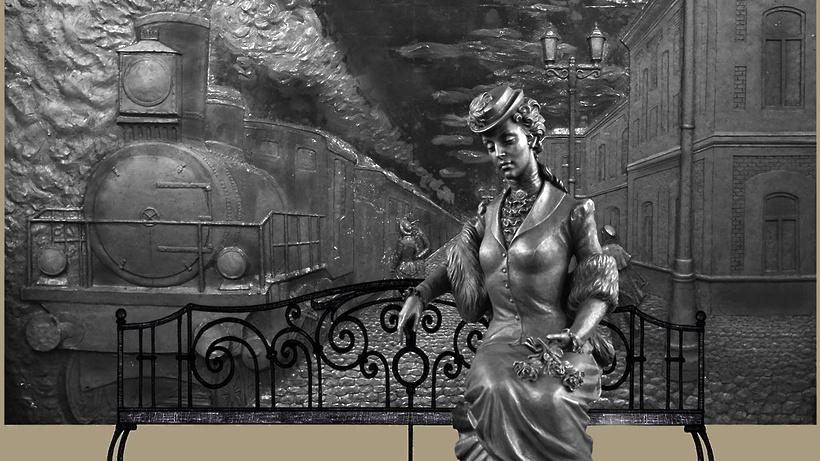 Жители Балашихи попросили перенести памятник Анне Карениной к ж/д станции Железнодорожная