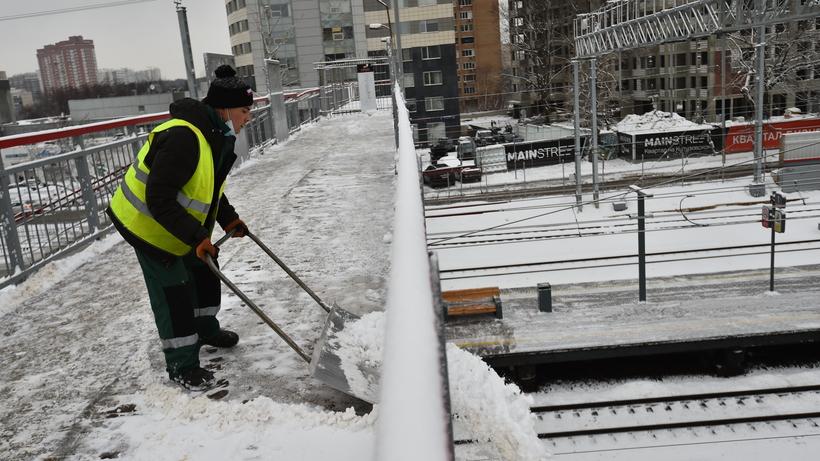 В Балашихе усилили контроль за соблюдением своевременности и качества уборки снега