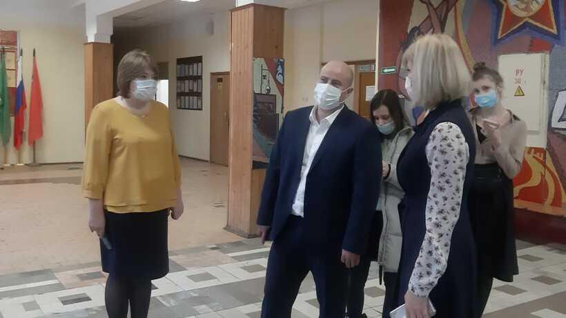 Уборные отремонтировали в школе №1 Котельников