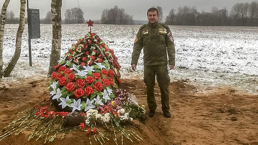 Поисковики Мытищ приняли участие в перезахоронении останков солдат ВОВ