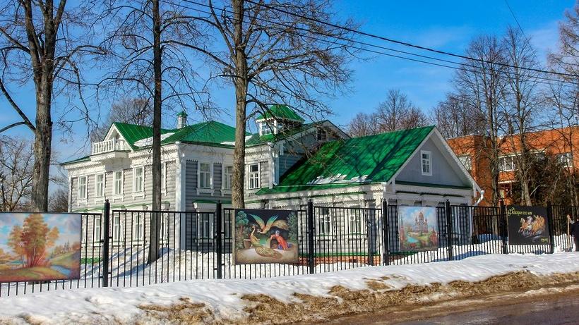 Жители села Федоскино Мытищ смогут отправить письмо Деду Морозу в Музее народных промыслов