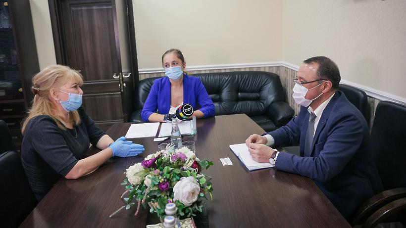 Судьбу мальчика с отцом из хижины обсудили в Балашихе с консулом посольства Узбекистана
