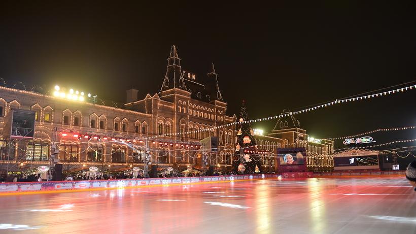 Юбилейный сезон открыли на ГУМ‑катке в центре Москвы