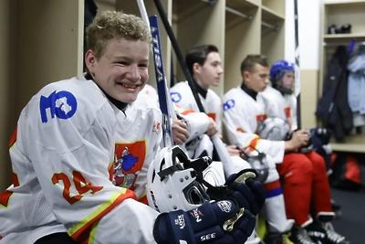 Матч между детскими командами прошел на ледовой арене в Красногорске в День хоккея