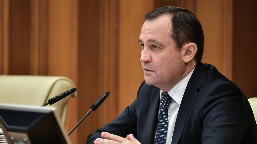 Брынцалов проверил ход строительства школы в микрорайоне Первомайский Балашихи