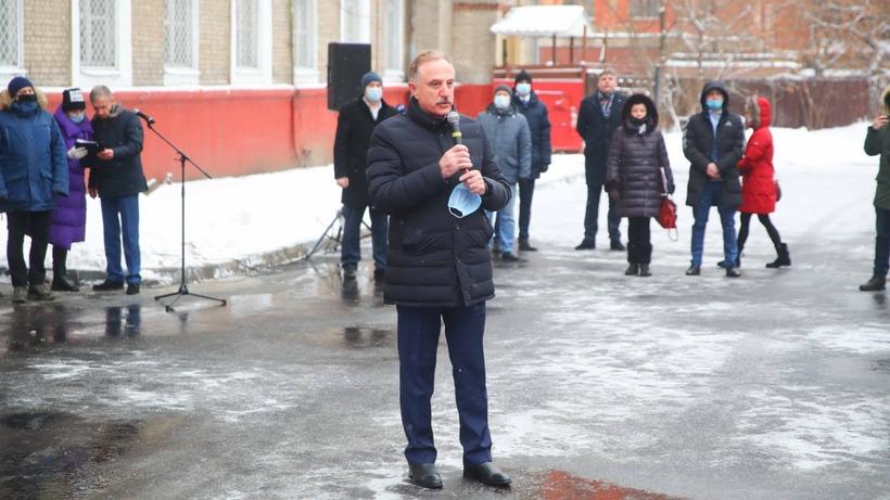 Глава Люберец сказал слова напутствия призывникам округа