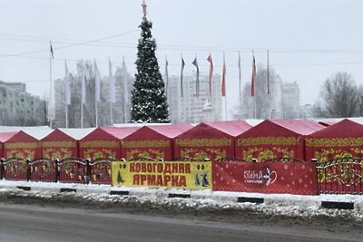 Ярмарка «Новогодняя» прошла в Краснознаменске