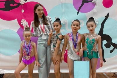 Шесть гимнасток из Котельников заняли призовые места на турнире MIG Christmas Cup