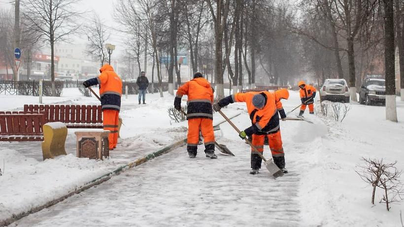 Молодогвардейцы Щелкова приняли участие в устранении последствий снегопада