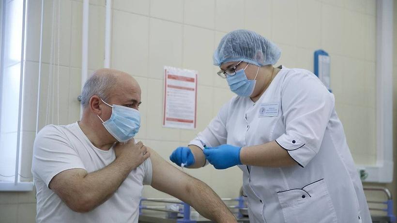 Мобильный пункт вакцинации от Covid‑19 посетит поселок Беляниново Мытищ 27–28 января