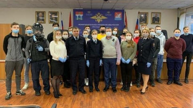 Студентам колледжа Мытищ рассказали о работе в полиции