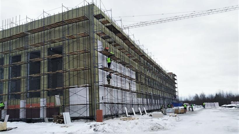 Школу на 550 мест достроят в Электрогорске к началу учебного года